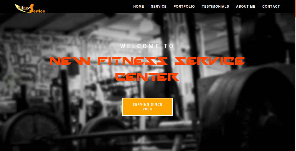 New Fitness Service